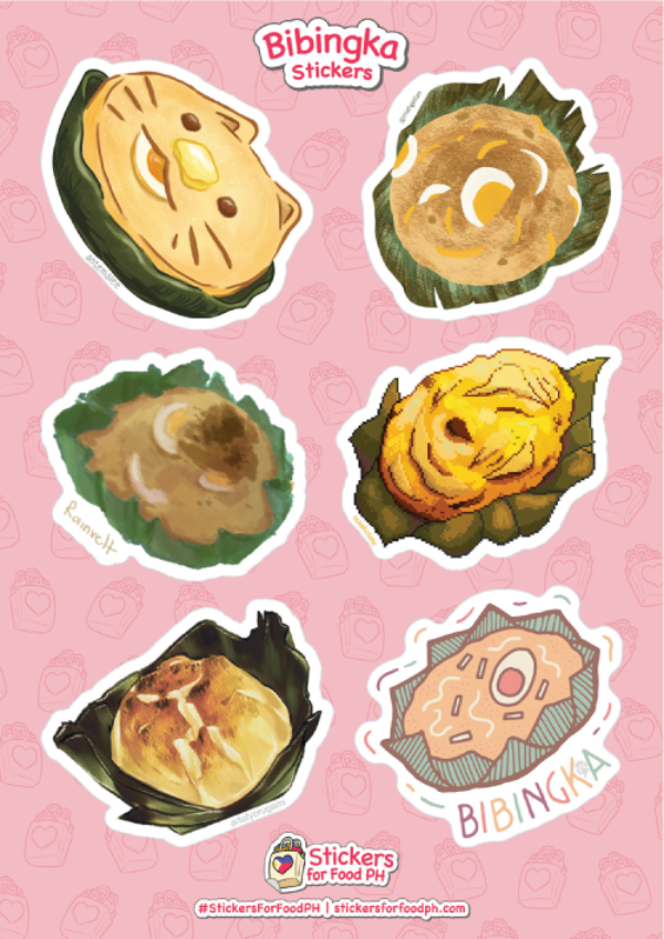 Bibingka Stickers
