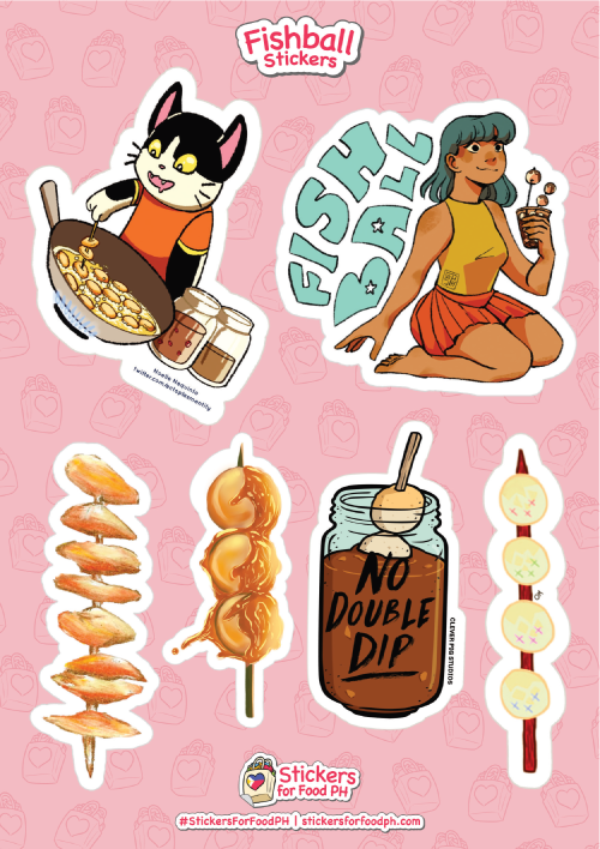 Fishball Stickers 01