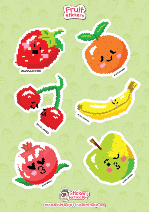 Fruit Stickers 01