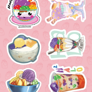 Halo-halo Stickers 02