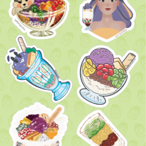 Halo-halo Stickers