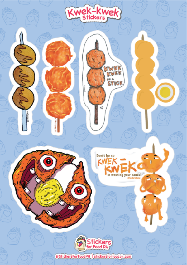 Kwek-kwek Stickers