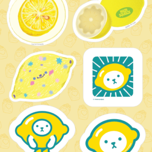 Lemon Stickers 02