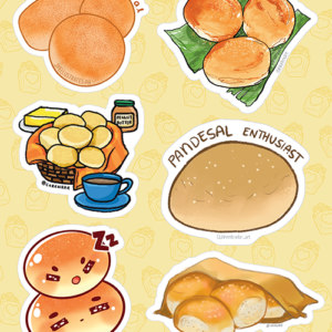 Pandesal Stickers 01