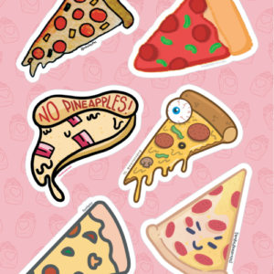 Pizza Slice Stickers 01