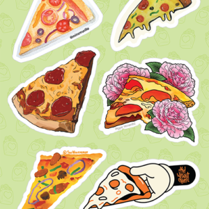 Pizza Slice Stickers 02