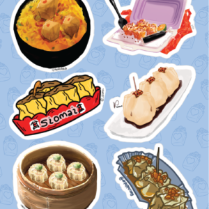Siomai Stickers