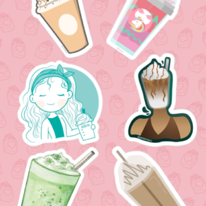 Frappe Stickers 01