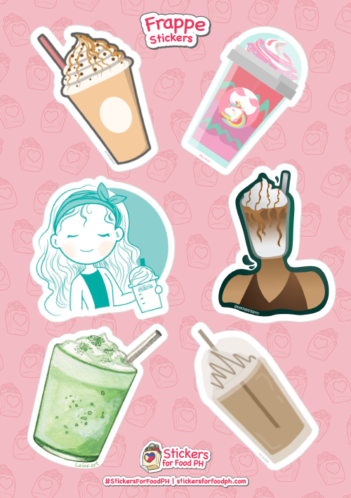 Stickers For Food PH - Frappe 01