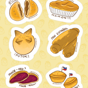 Baked Goods Stickers 01